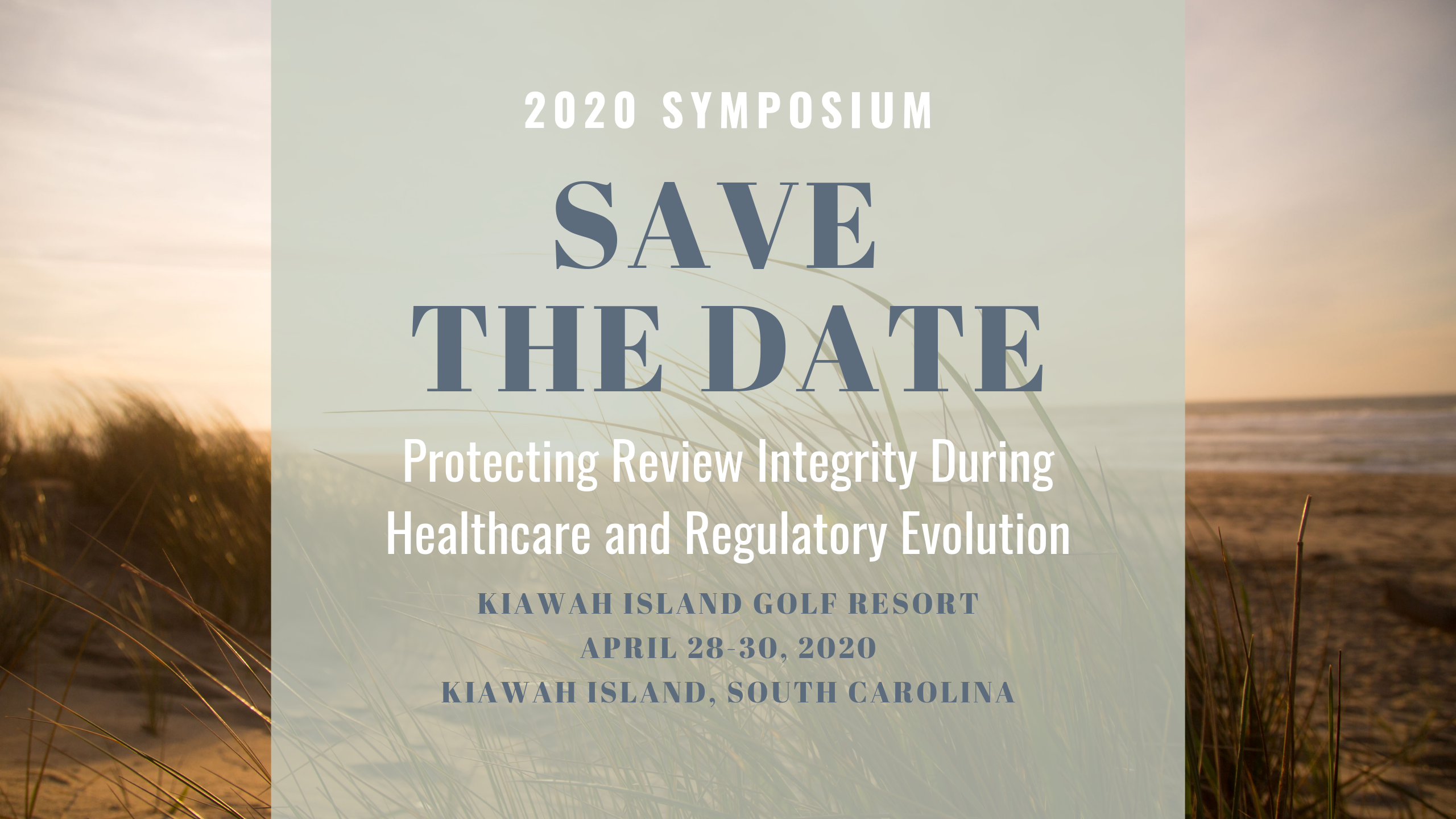 2020 Symposium save-the-date